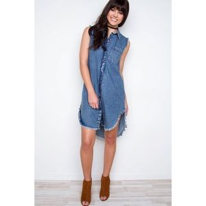 London Ryder Denim Dress